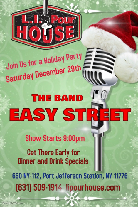 EasyStreet at the PourHouse on 12-29